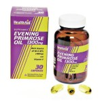 Aceite de Onagra 1300 mg Health Aid, Evening Primrose oil 1