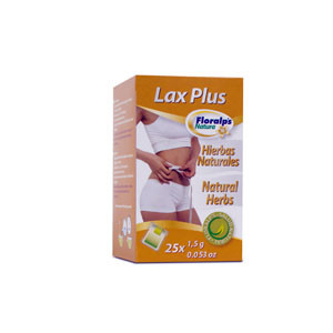 LAX PLUS 25 SOBRES FLORALPS