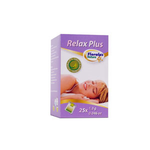 RELAX PLUS 25 SOBRES FLORALPS