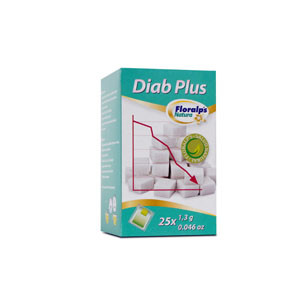 DIAB PLUS 25 SOBRES FLORALPS