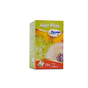 ALER PLUS 25 SOBRES FLORALPS