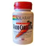 Food Carotene Solaray 1