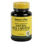 Natural Beta Carotene Nature's Plus 1