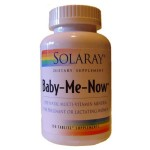 Pre-natal Multi Baby Me Now Solaray 1
