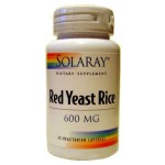 Red Yeast Rice (Levadura Roja de Arroz) Solaray 1
