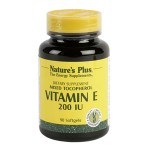 Vitamina E 200UI Nature's Plus 1