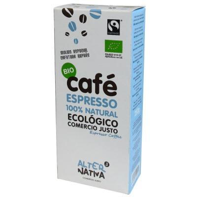 Cafe Espresso Molido Alternativa 3 (250 Gr) Bio