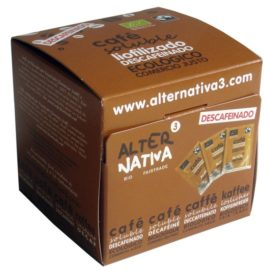 Cafe Liofilizado Soluble Descafeinado Alternativa 3 (25X2 Gr) Bio