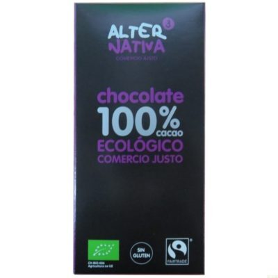 Chocolate 100% Alternativa 3 (80 Gr) Bio