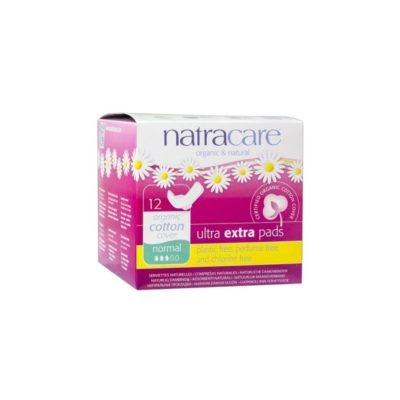 compresa ultra extrafina normal con alas natracare