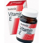 Vitamina E natural 200 UI Health aid, antioxidante 1