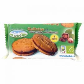Galleta Rellena Chocolate Avellana Belsi 70 Gr