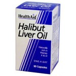 Aceite de Higado de Halibut Health Aid, la mayor fuente de vitaminas 1
