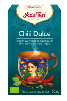 chili dulce yogi tea infusion bio