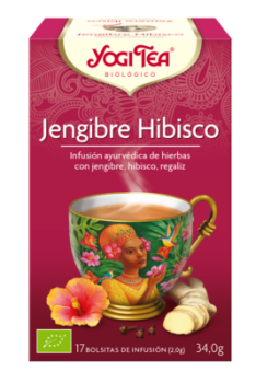 jengibre hibisco yogi tea